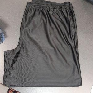 Men's sz 4x Athletech black dri-fit shorts